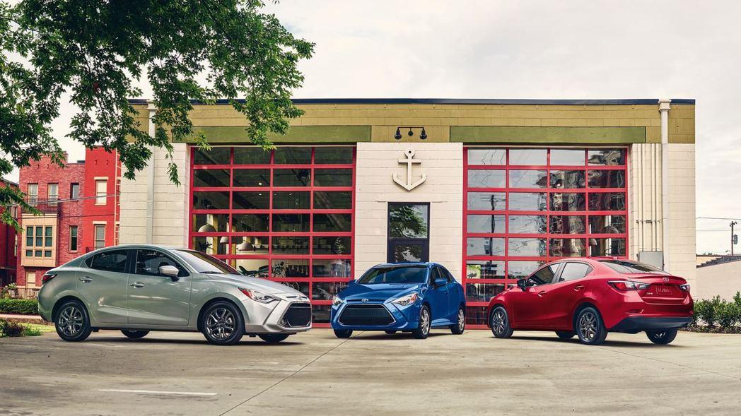美規Toyota Yaris Sedan在去年發表了小改款式樣。 摘自Toyot...