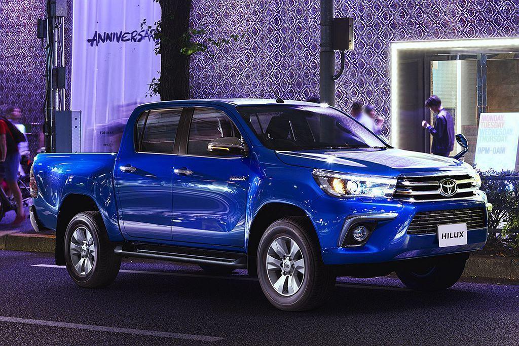 Toyota Hilux(日規車型)。 圖/Toyota提供