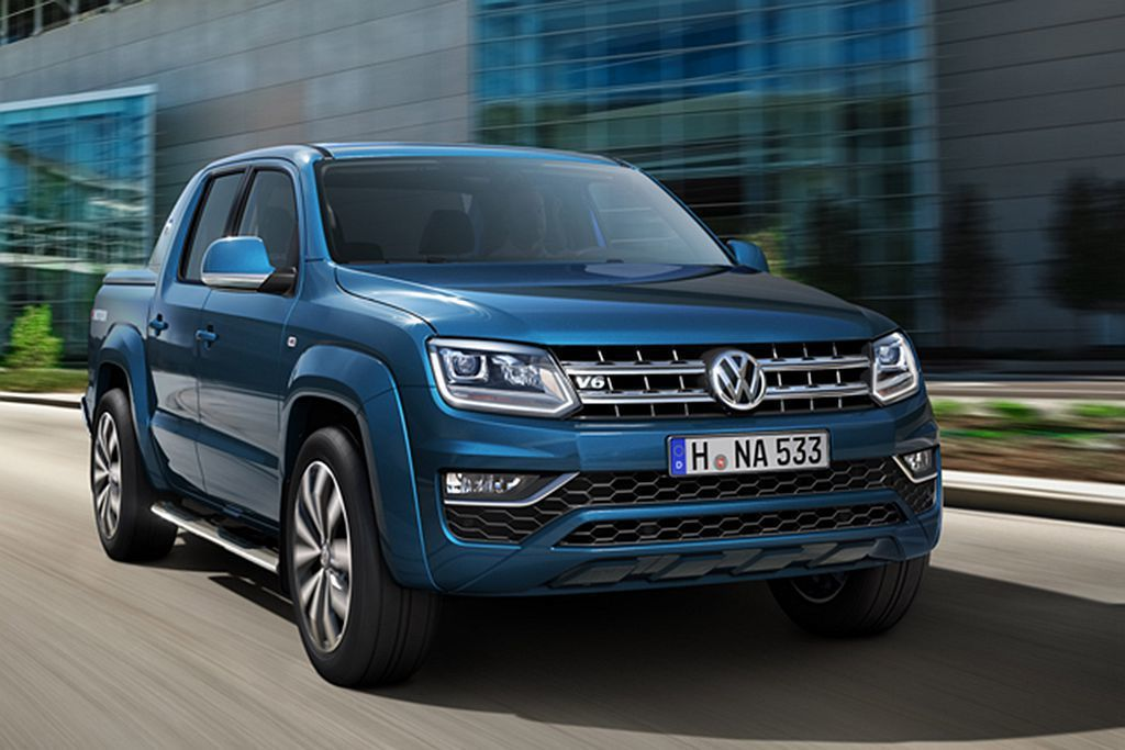 福斯商旅Amarok。 圖/Volkswagen Commercial Vehicle提供