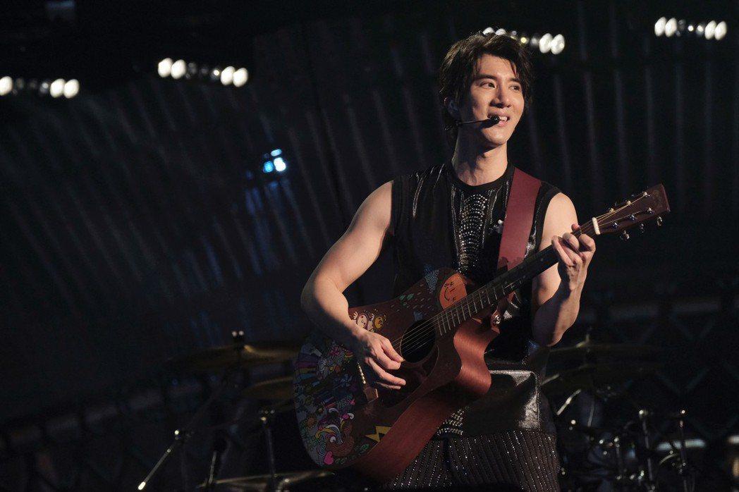 王力宏開心宣布演唱會加場。圖/宏聲音樂提供