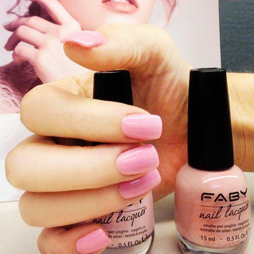 FABY「LCO004 甜蜜生活」是好感度滿分的柔美淺粉色。圖/FABY提供