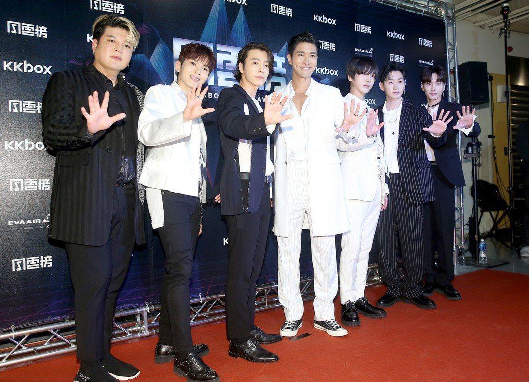 Super Junior。記者余承翰/攝影