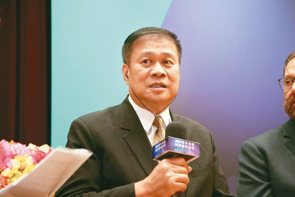 中華民國旅館公會全聯會理事長張榮南 毛洪霖/攝影