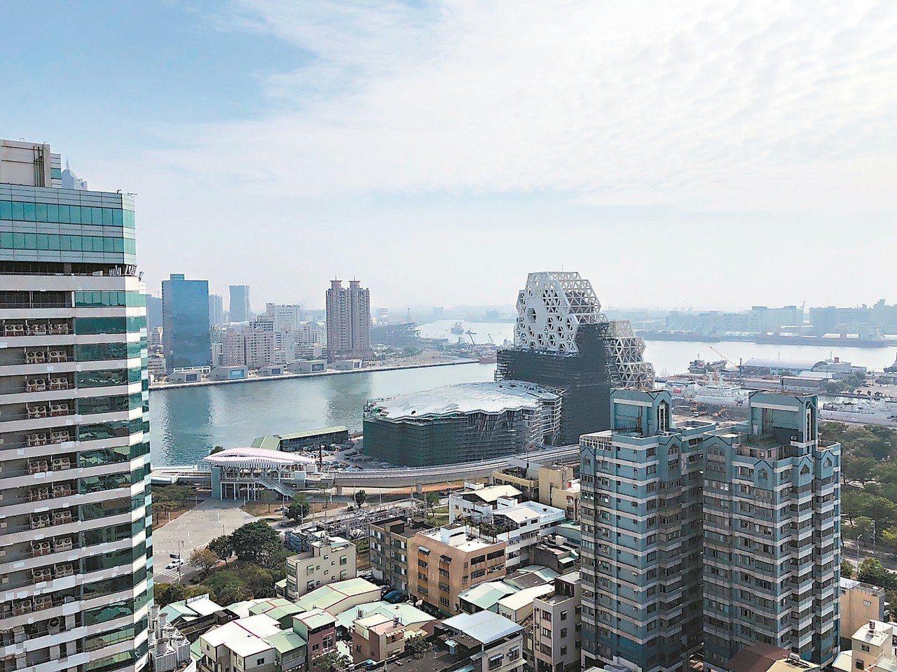 高雄房市創近3年單月新高。 聯合報系資料照/記者林政鋒攝影
