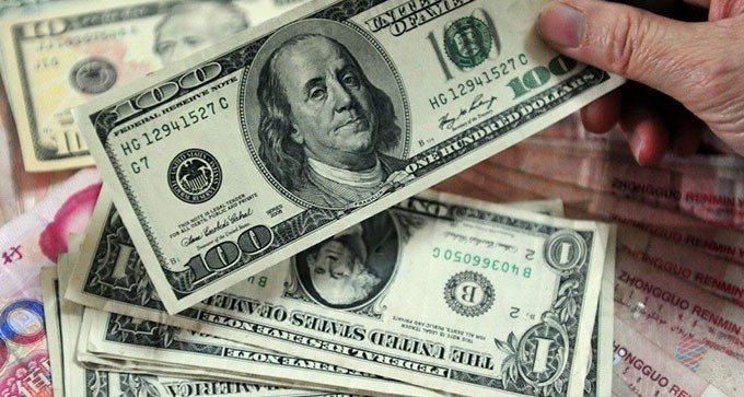 美元。 報系資料照片