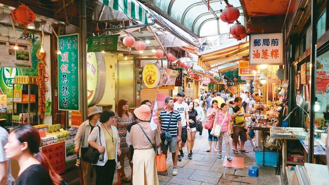 中國大陸去年來台人次約266萬。 本報系資料庫