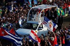 教宗訪巴拿馬 將為數十萬年輕人舉行露天彌撒