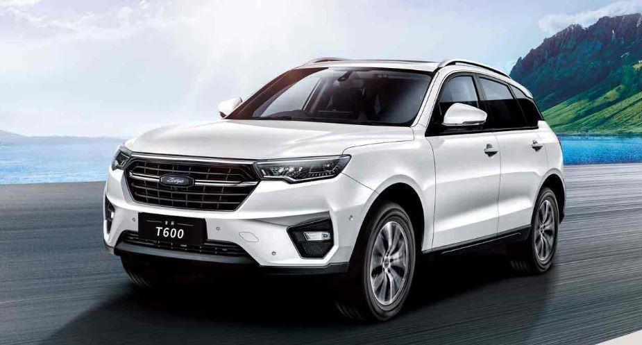 中國眾泰T600。 摘自眾泰汽車