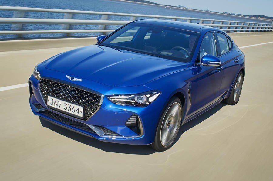 Hyundai Genesis新興勢力正在崛起。 摘自Hyundai