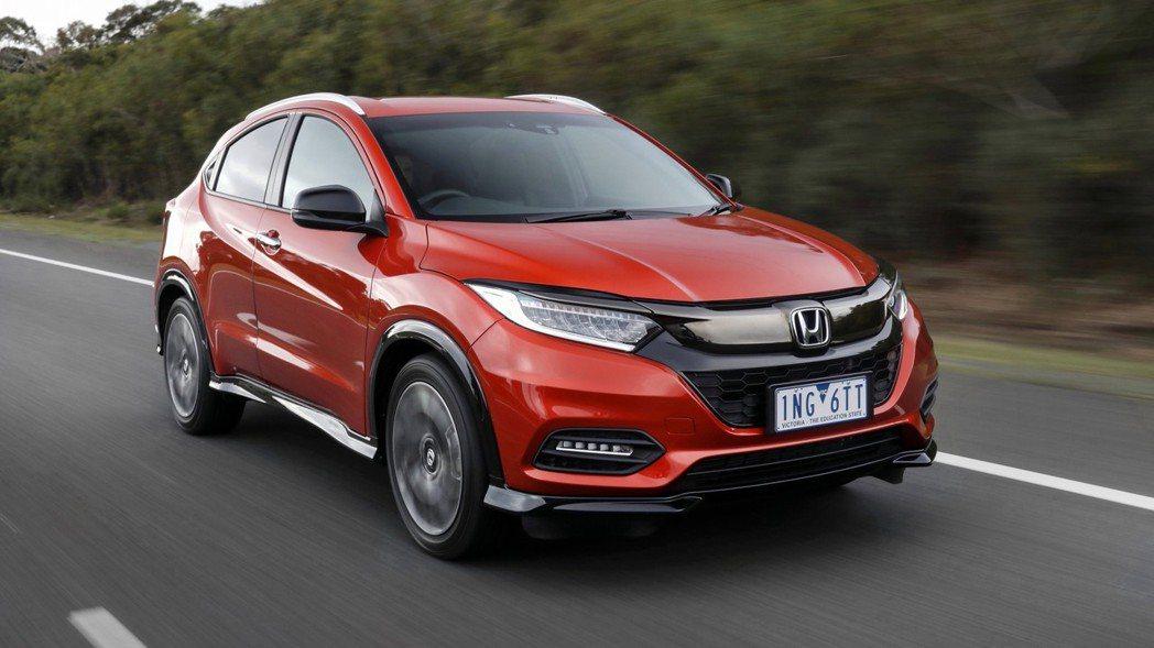 Honda HR-V將推出小改款車型(圖為國外車型)。 圖/Honda提供