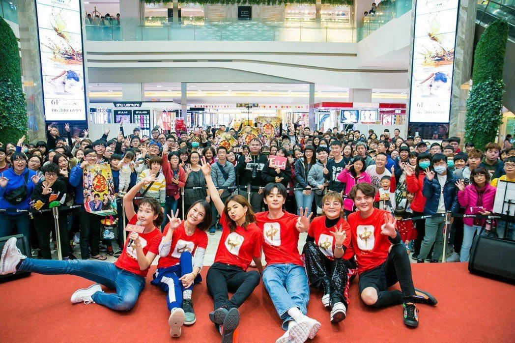 「大三元」劇組26日下台南、高雄首映會。圖/牽猴子提供