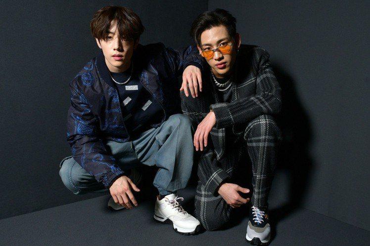 2019年1月時裝秀上邀請韓國男子團體GOT7的成員BamBam與Mark Tu...