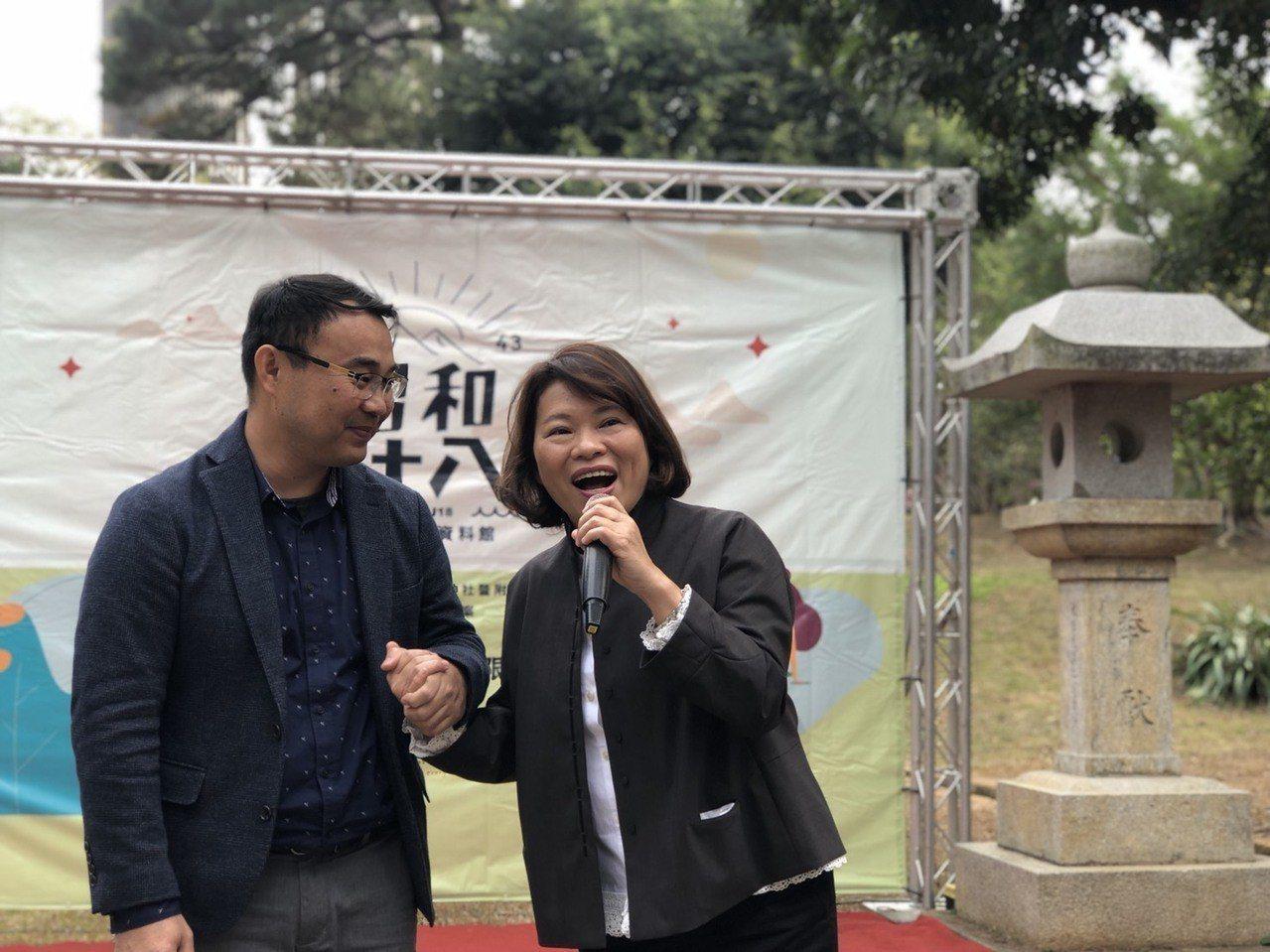 「對了出發文化創意有限公司」執行長葉欣芝說,過去幾個月與古蹟深度對話,感受到史蹟...
