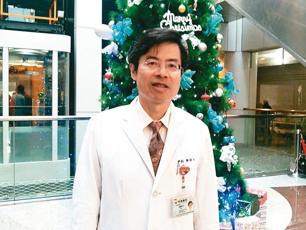 衛福部桃園醫院院長鄭舜平扮演該院邁向醫學中心推手。 記者曾增勳/攝影
