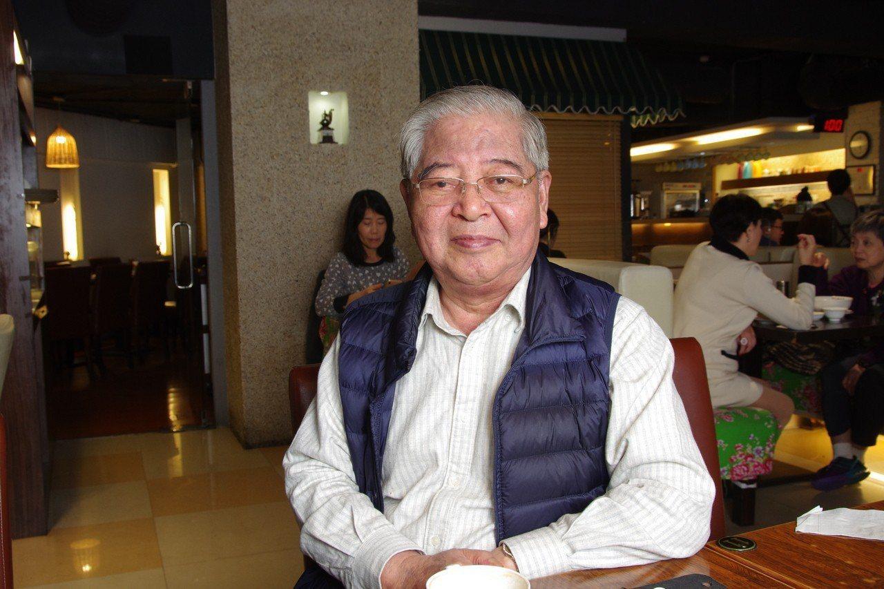 陳虎門在兩岸情報圈赫赫有名,也是震驚台美江南案的關鍵角色之一。 記者程嘉文/攝影