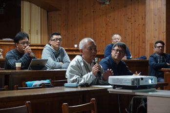 台北籌備大會上,嘉賓熱烈發問。 圖/木建築產業研究院提供。