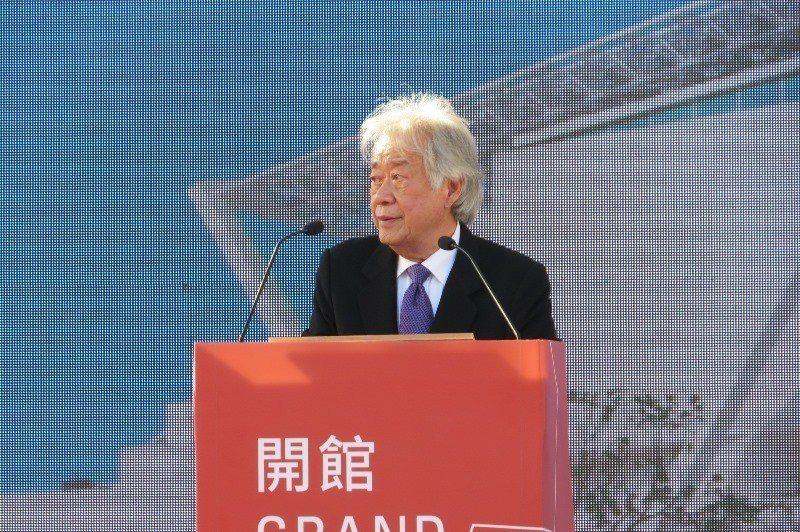 陳輝東董事長致詞。  陳慧明 攝影
