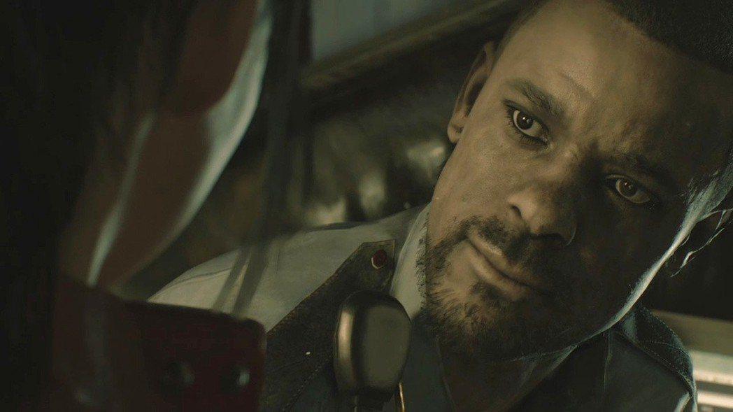 玩家在進入警局之後第一個會遇到的活人,就是馬文警官,過去說沒兩句話就拿槍對著主角...
