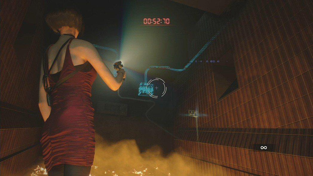 艾達這回與雪莉的媽媽雅妮有不少對手戲分,在誤中陷阱的當下,得趕快設法在數秒內逃脫...