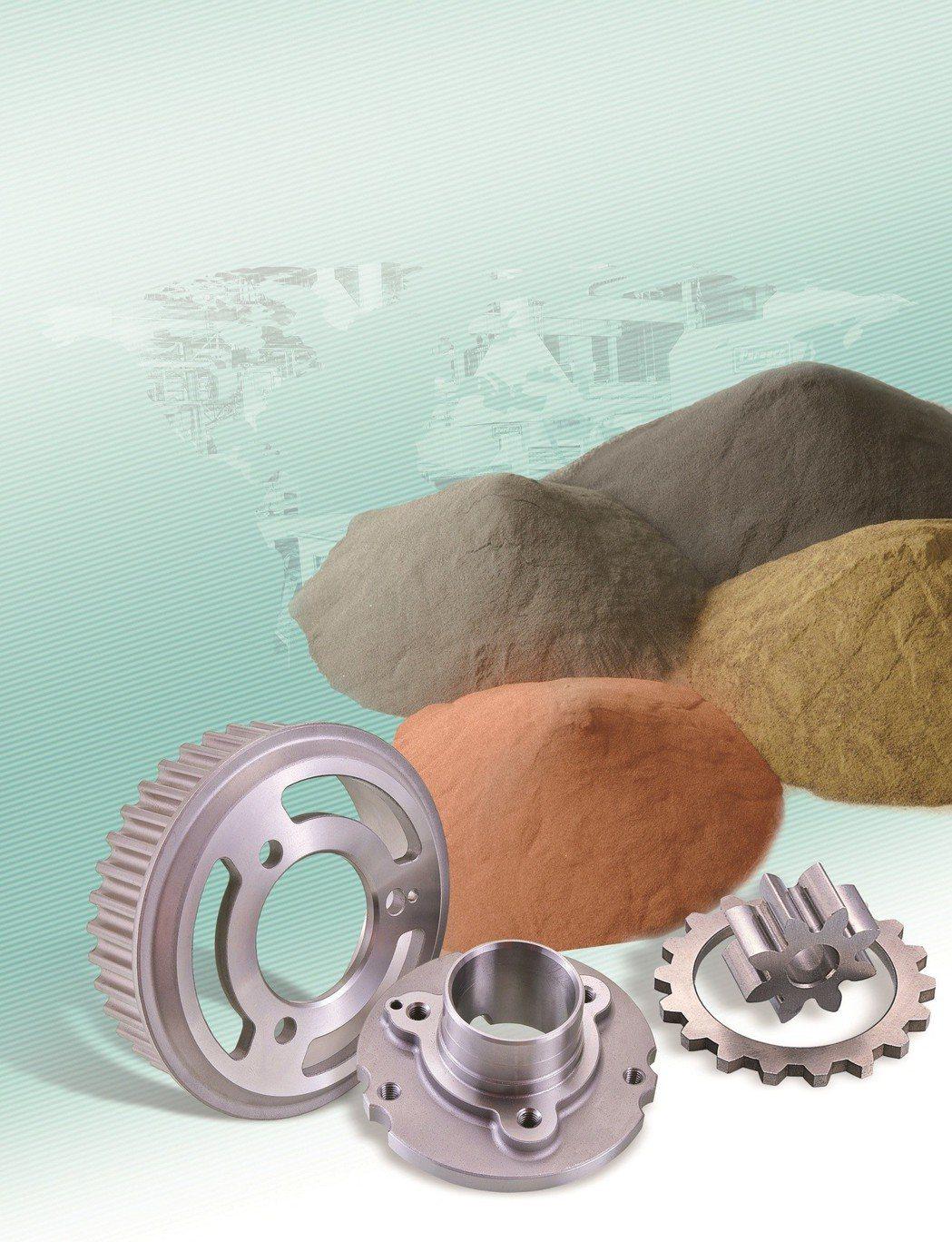 旭宏金屬粉末冶金製品成功跨入歐、美、日系車種車廠供應鏈體系。 旭宏金屬/提供