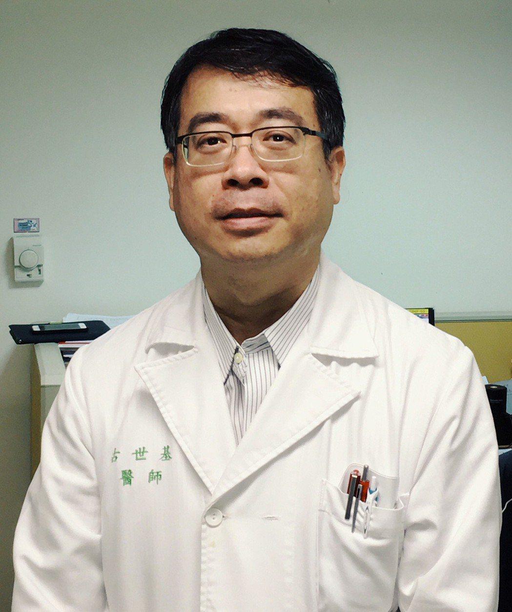 台大醫院胸腔內科主治醫師古世基醫師提醒,「年長者的抵抗力較差,需要更積極的主動免...