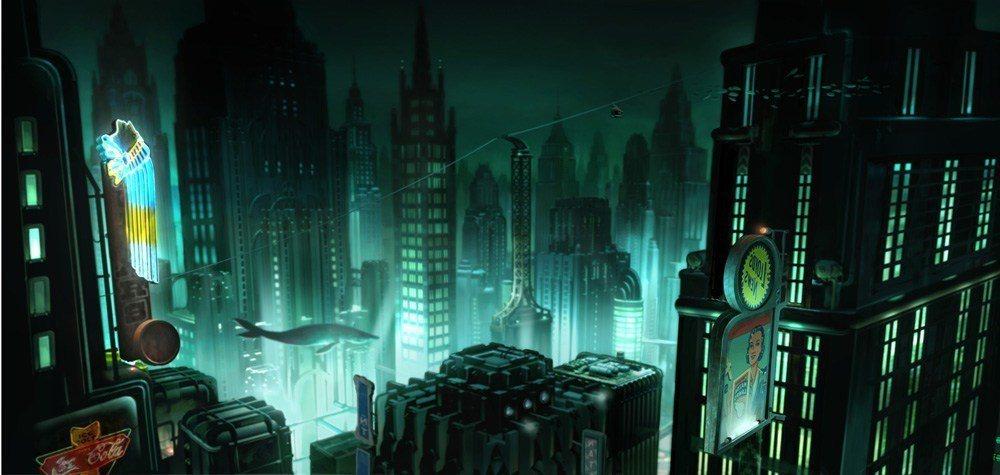 ▲海底城 Rapture 留給玩家們形象不是隨隨便便就能輕易抹去