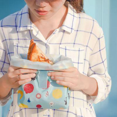 環保食物袋防水防油,可裝熟食。圖/uDesign
