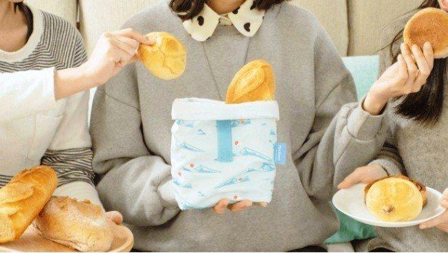 環保食物袋可裝麵包、水果、三明治、糕餅點心,以及裝附醬汁的食物等。圖/uDesi...