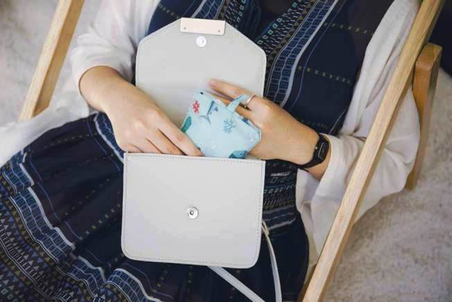 摺疊後的環保食物袋便於收納。圖/uDesign