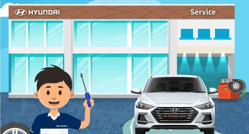 HYUNDAI總代理南陽實業全台主要服務據點安排人員值班,提供車輛簡易保修服務。...