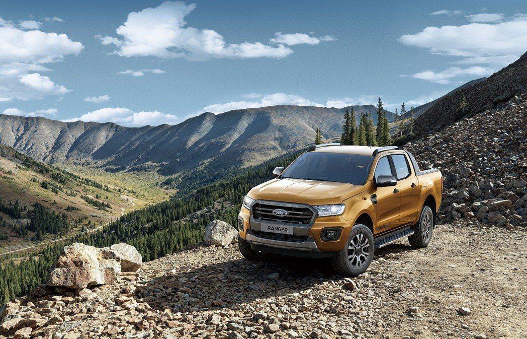 Ford Ranger連續10年打破亞太市場銷售紀錄,在台連續5年穩居運動皮卡領...