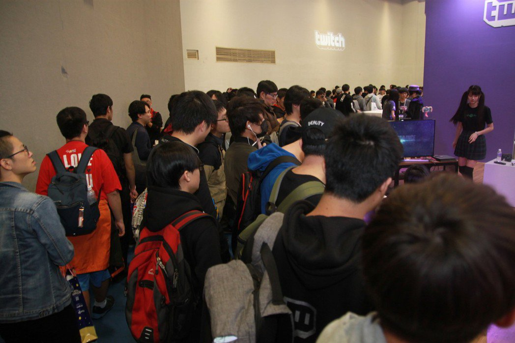 與遊戲廠商展區不同,3c區塊仍有活動持續進行。
