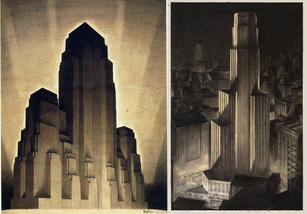 在建築師菲利斯的建築狂想裡,一棟棟如鬼魅般的金字塔式摩天大樓,顯然並不是出於理性...