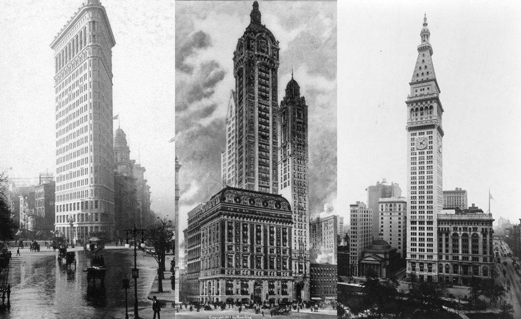 19、20世紀之交,下曼哈頓的華爾街金融區,一棟棟龐然大物也如雨後春筍般出現。庫...