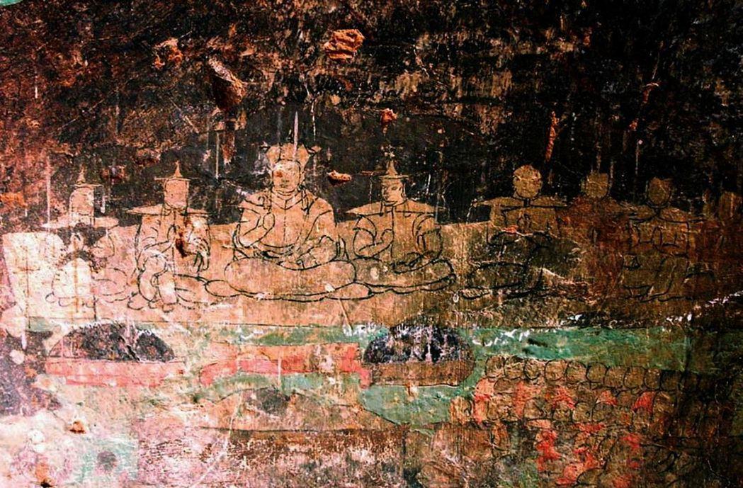 藏傳佛教在蒙古地區的傳播始自於成吉思汗征討西夏。圖為位於今內蒙古自治區鄂爾多斯的...