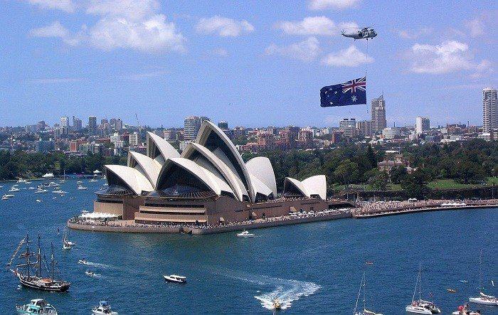 澳洲。 圖/Phil Whitehouse via Wikimedia
