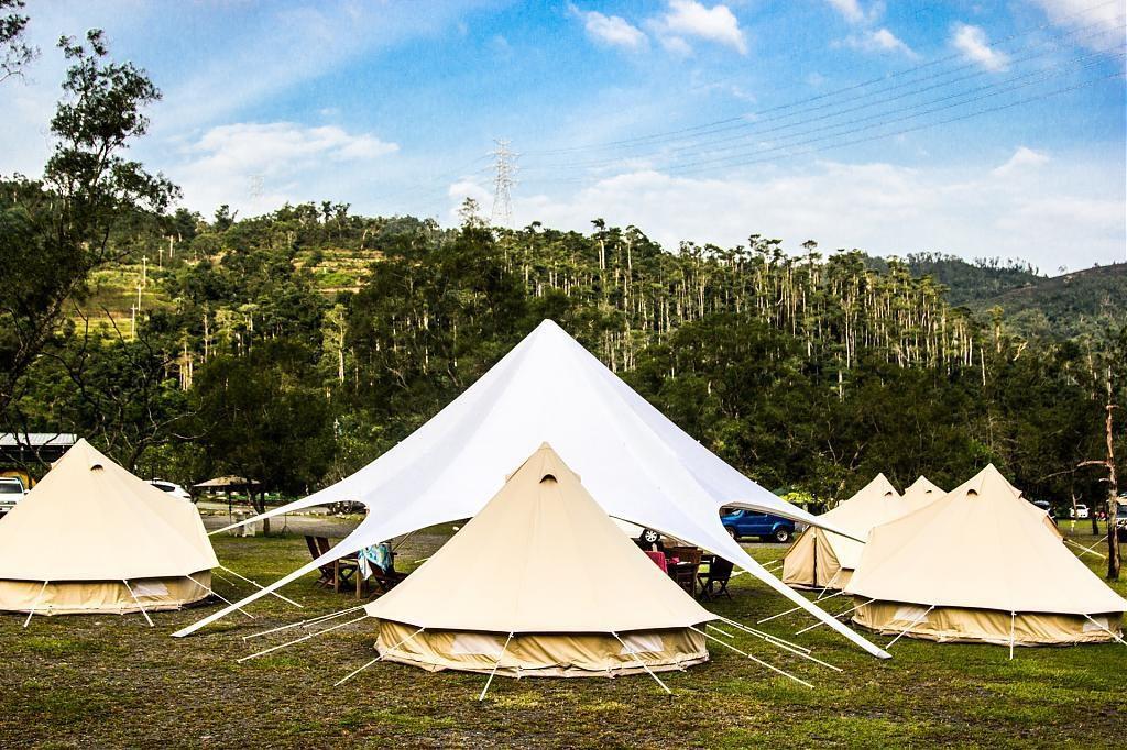 ▲免裝備露營區推薦-宜蘭夢幻露營。(圖/Tripbaa趣吧!亞洲自由行專家)