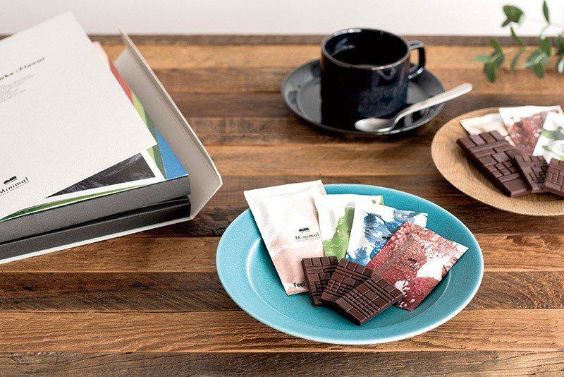 即將在2019年1月推出7種口味組合,包含帶有青蘋果、水蜜桃等香氣的巧克力。