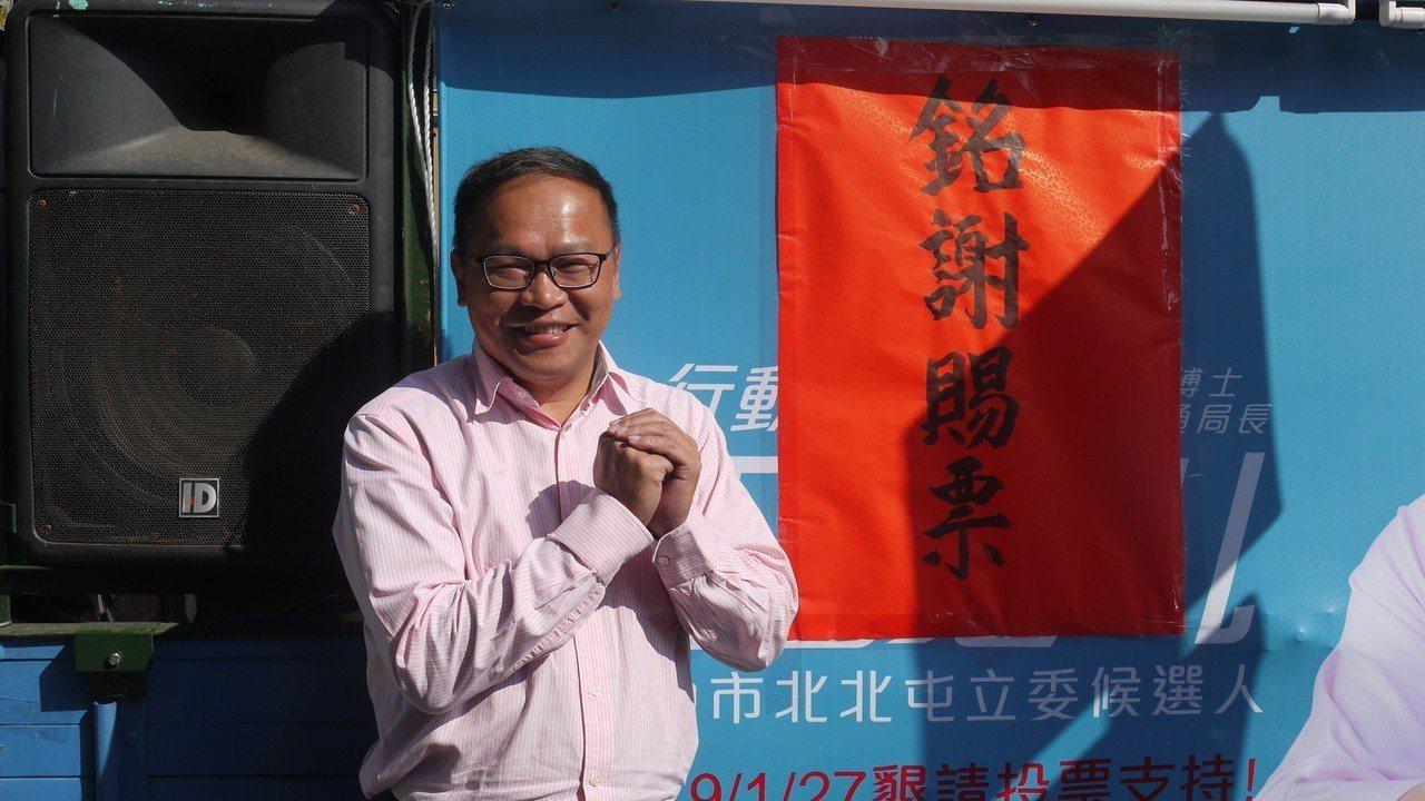 參選立委落敗的前交通局長王義川,今明安排車隊謝票。王義川說,選後仍會持續關心交通...