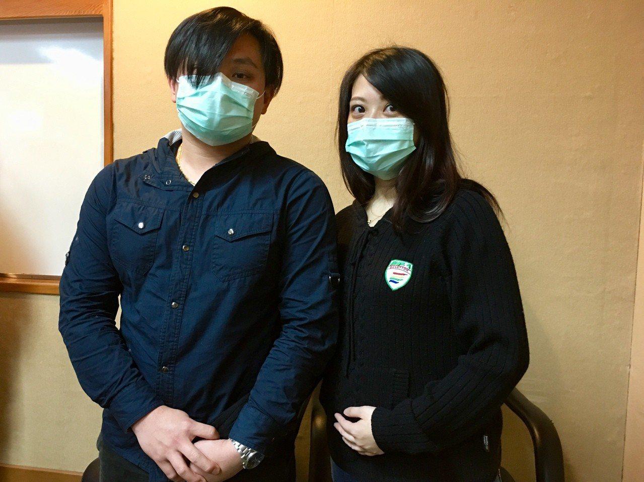 29歲陳先生(左)曾因隱睪症切除左側睪丸,卻於婚後孕前健康檢查發現有「無精症」,...