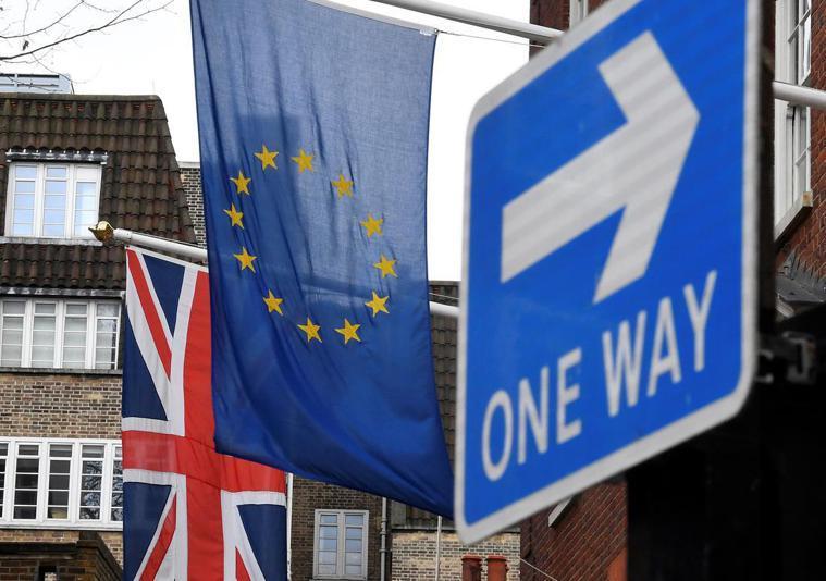 英國國會29日將再就首相梅伊的脫歐B計畫進行表決。路透