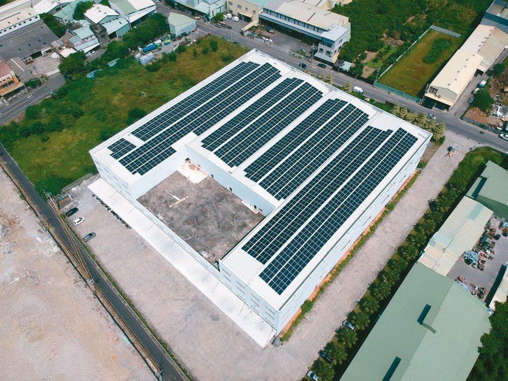 久新新物流倉儲營造綠建築環境,促進綠色經濟產業,以達到節能減碳目標。 久新新物流...
