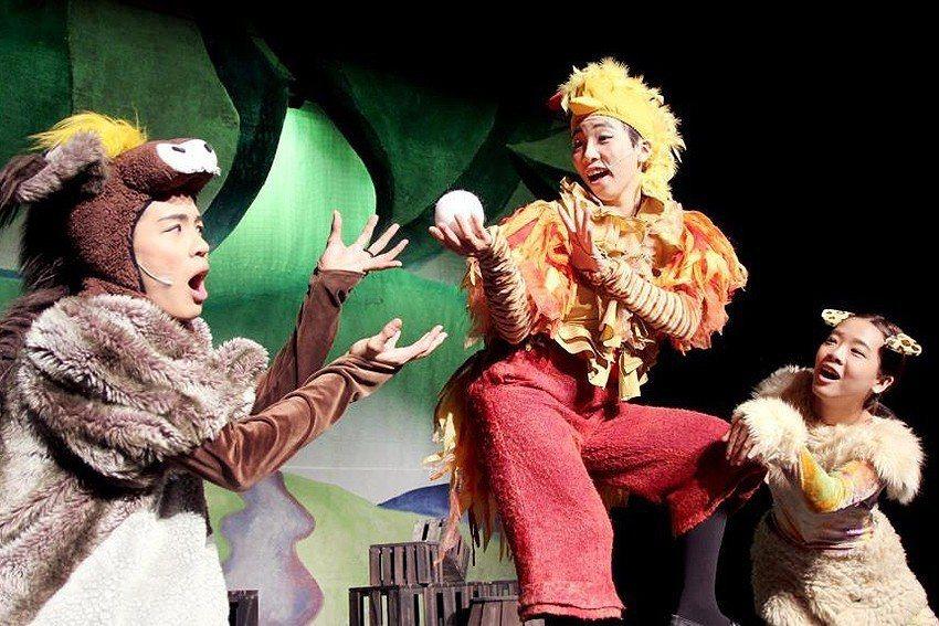 「如果兒童劇團」初二演出經典兒童劇《布萊梅樂隊》。 十三行博物館/提供