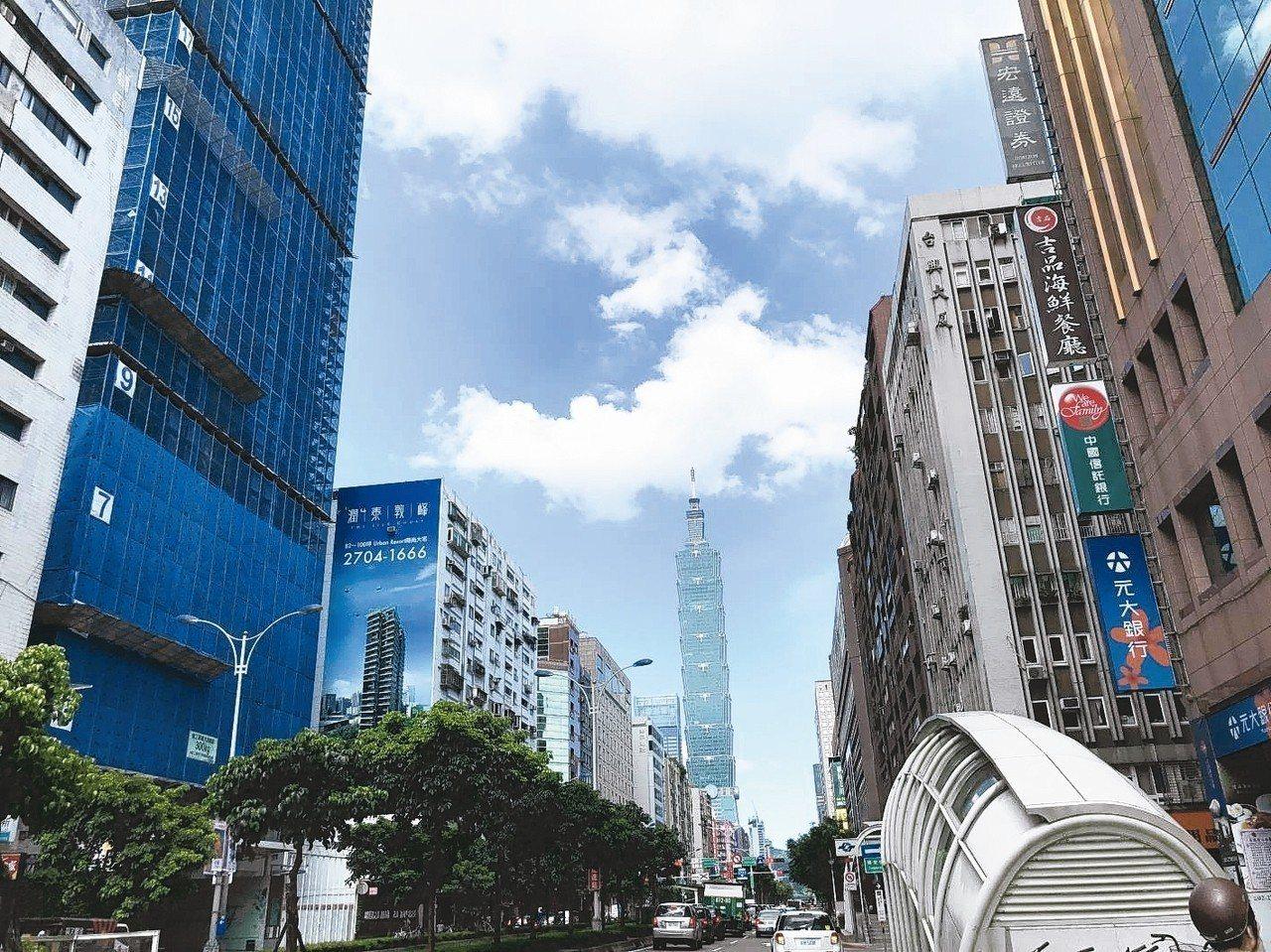 去年10月北市房市交易總金額270億元,連四個月成長。 圖/聯合報系資料照片