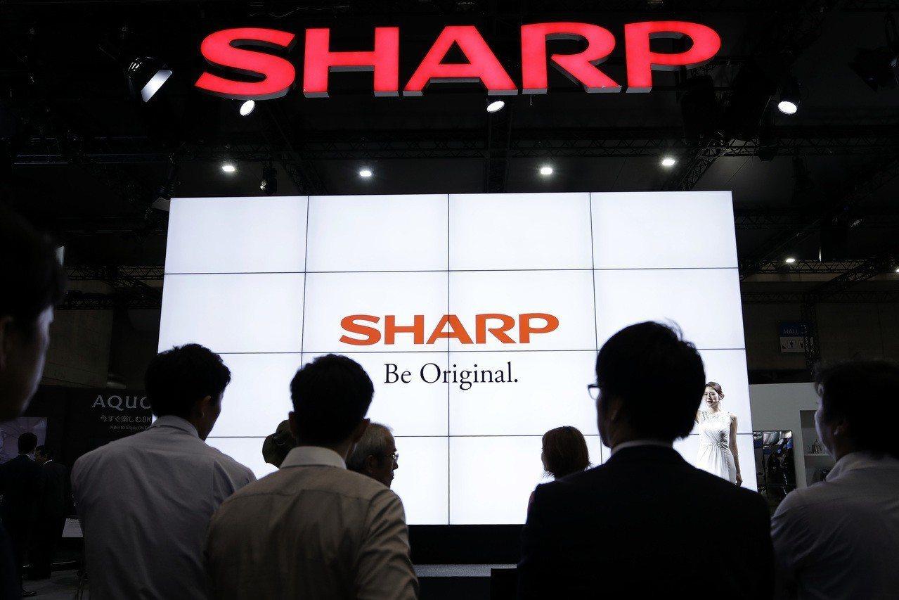 夏普(Sharp)。 歐新社