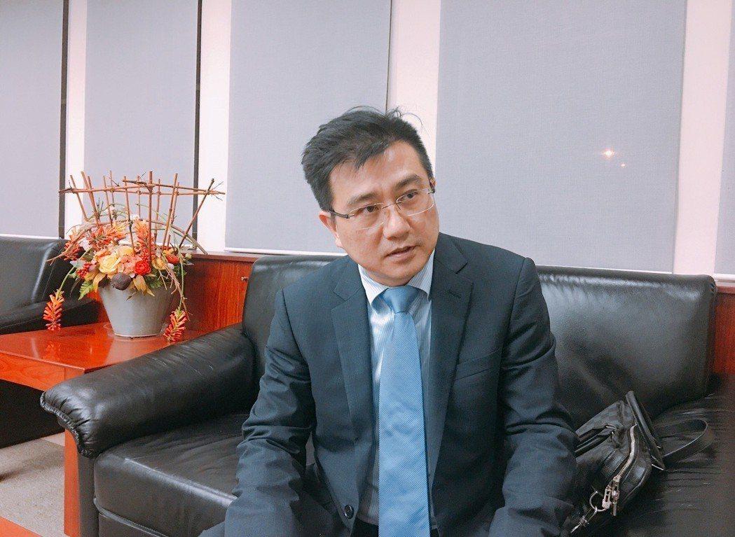 楊雲翔於貴賓休息室接受訪問。 楊雲翔/提供