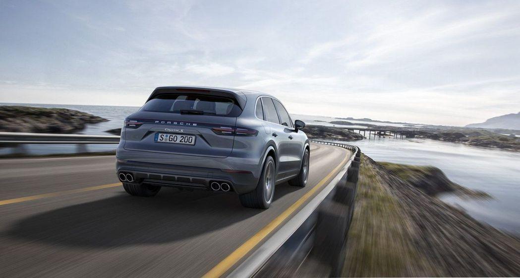 Porsche Cayenne去年在台銷售數字佔品牌總銷量50%以上。 摘自Po...
