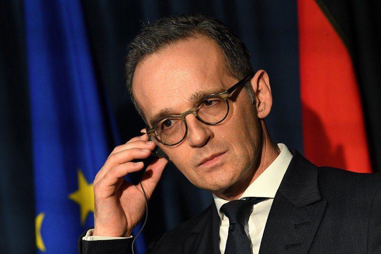 德國外交部長馬斯(Heiko Maas)。 圖/路透社