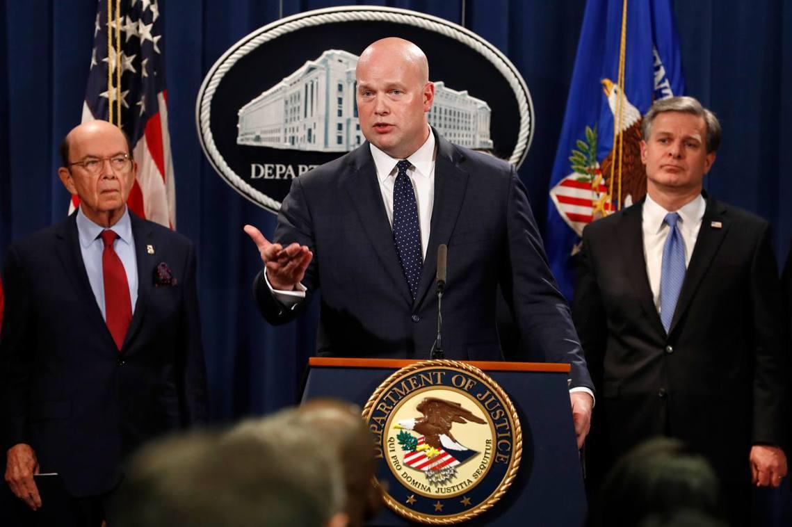 美國司法部28日在華府召開了重大跨部會記者會,並以13項罪名正式起訴華為集團、兩...