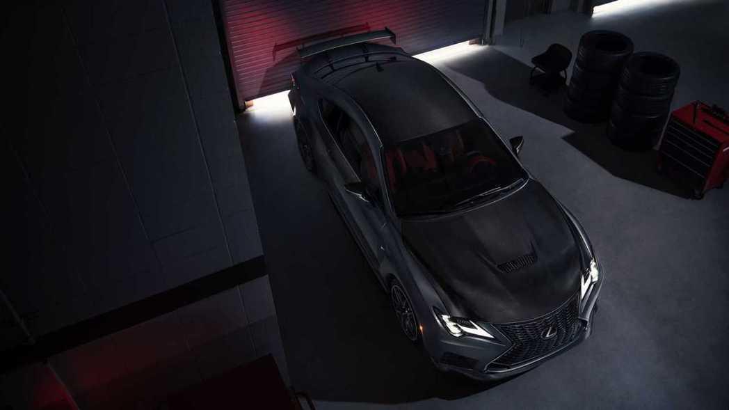RC F Track Edition。 摘自Lexus
